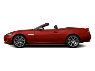 Italian Racing Red 2013 Jaguar XK Pictures XK Convertible XKR Supercharged photos side view
