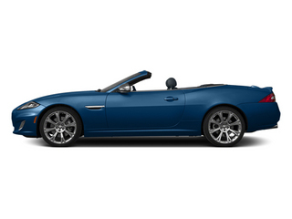 Kyanite Blue 2013 Jaguar XK Pictures XK Convertible XKR Supercharged photos side view