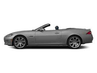 Rhodium Silver Metallic 2013 Jaguar XK Pictures XK Convertible XKR Supercharged photos side view