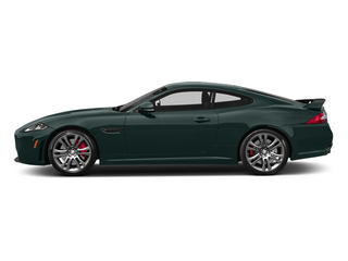 British Racing Green 2013 Jaguar XK Pictures XK Coupe 2D XKR-S Supercharged photos side view