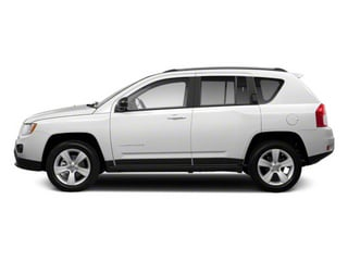 Bright White 2013 Jeep Compass Pictures Compass Utility 4D Sport 2WD photos side view
