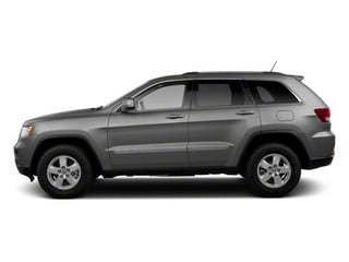 Mineral Gray Metallic 2013 Jeep Grand Cherokee Pictures Grand Cherokee Utility 4D Overland 4WD photos side view