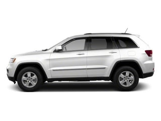 Bright White 2013 Jeep Grand Cherokee Pictures Grand Cherokee Utility 4D Laredo 4WD photos side view