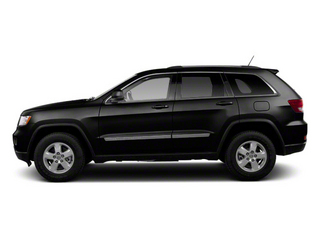 Brilliant Black Crystal Pearl 2013 Jeep Grand Cherokee Pictures Grand Cherokee Utility 4D Overland 4WD photos side view