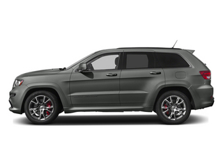 Mineral Gray Metallic 2013 Jeep Grand Cherokee Pictures Grand Cherokee Utility 4D SRT-8 4WD photos side view