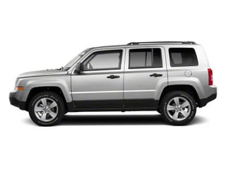 Bright Silver Metallic 2013 Jeep Patriot Pictures Patriot Utility 4D Limited 2WD photos side view