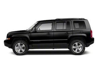 Black 2013 Jeep Patriot Pictures Patriot Utility 4D Limited 2WD photos side view