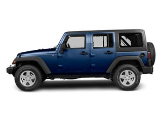 True Blue Pearl 2013 Jeep Wrangler Unlimited Pictures Wrangler Unlimited Utility 4D Unlimited Sahara 4WD photos side view