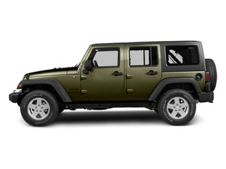 Commando Green 2013 Jeep Wrangler Unlimited Pictures Wrangler Unlimited Utility 4D Unlimited Sahara 4WD photos side view
