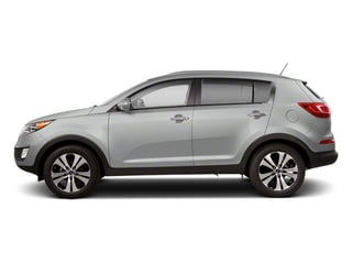 Bright Silver 2013 Kia Sportage Pictures Sportage Utility 4D LX 2WD I4 photos side view