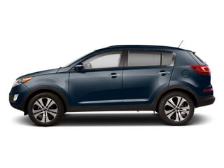 Twilight Blue 2013 Kia Sportage Pictures Sportage Utility 4D LX 2WD I4 photos side view