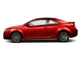 Racing Red 2013 Kia Forte Koup Pictures Forte Koup Coupe 2D SX I4 photos side view