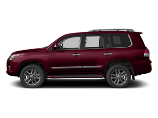 Noble Spinel Mica 2013 Lexus LX 570 Pictures LX 570 Utility 4D 4WD photos side view