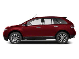 Red Ruby Tinted Metallic 2013 Lincoln MKX Pictures MKX Wagon 4D Elite AWD photos side view