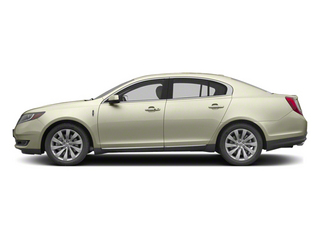 Crystal Champagne Metallic Tri-Coat 2013 Lincoln MKS Pictures MKS Sedan 4D EcoBoost AWD photos side view