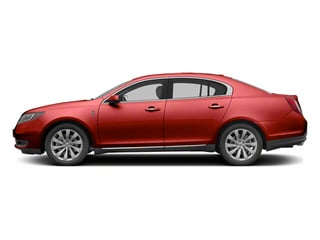 Ruby Red Tinted Metallic 2013 Lincoln MKS Pictures MKS Sedan 4D EcoBoost AWD photos side view