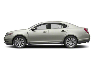 Silver Diamond Premium Metallic 2013 Lincoln MKS Pictures MKS Sedan 4D EcoBoost AWD photos side view