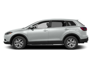 Crystal White Pearl Mica 2013 Mazda CX-9 Pictures CX-9 Utility 4D Sport AWD V6 photos side view