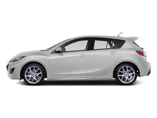Crystal White Pearl Mica/Black 2013 Mazda Mazda3 Pictures Mazda3 Wagon 5D SPEED I4 photos side view