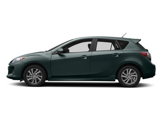 Dolphin Gray Mica 2013 Mazda Mazda3 Pictures Mazda3 Wagon 5D i Touring I4 photos side view