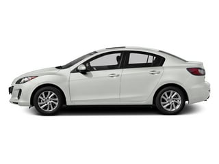 Crystal White Pearl Mica 2013 Mazda Mazda3 Pictures Mazda3 Sedan 4D i Touring I4 photos side view