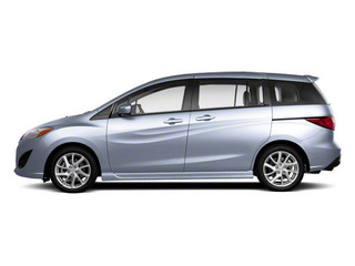 Clear Water Blue Metallic 2013 Mazda Mazda5 Pictures Mazda5 Wagon 5D GT I4 photos side view