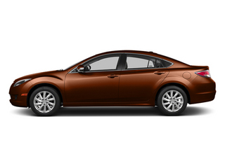 Autumn Bronze 2013 Mazda Mazda6 Pictures Mazda6 Sedan 4D i Touring Plus photos side view