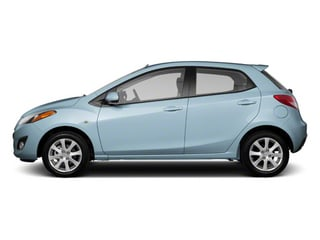 Clear Water Blue Metallic 2013 Mazda Mazda2 Pictures Mazda2 Hatchback 5D Touring I4 photos side view
