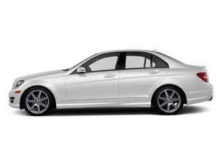 Polar White 2013 Mercedes-Benz C-Class Pictures C-Class Sport Sedan 4D C250 photos side view