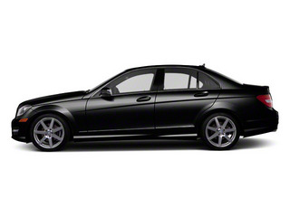 Magnetite Black Metallic 2013 Mercedes-Benz C-Class Pictures C-Class Sport Sedan 4D C250 photos side view