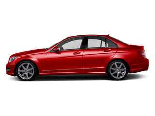 Mars Red 2013 Mercedes-Benz C-Class Pictures C-Class Sport Sedan 4D C250 photos side view