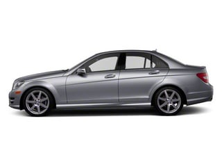 Steel Grey Metallic 2013 Mercedes-Benz C-Class Pictures C-Class Sport Sedan 4D C250 photos side view