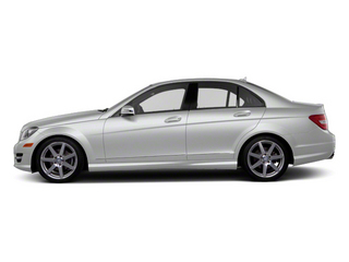 Diamond Silver Metallic 2013 Mercedes-Benz C-Class Pictures C-Class Sport Sedan 4D C250 photos side view