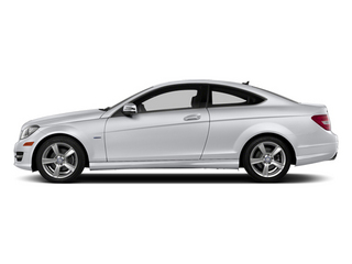 Polar White 2013 Mercedes-Benz C-Class Pictures C-Class Coupe 2D C250 photos side view