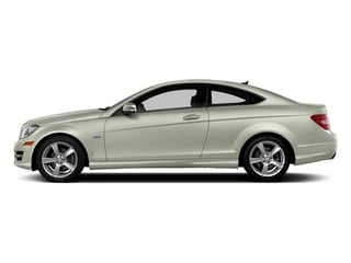 Iridium Silver Metallic 2013 Mercedes-Benz C-Class Pictures C-Class Coupe 2D C250 photos side view
