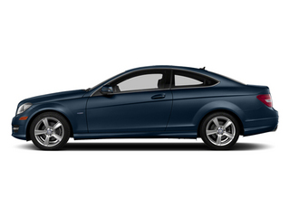 Lunar Blue Metallic 2013 Mercedes-Benz C-Class Pictures C-Class Coupe 2D C250 photos side view