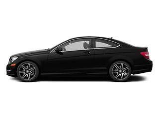 Magnetite Black Metallic 2013 Mercedes-Benz C-Class Pictures C-Class Coupe 2D C350 AWD photos side view