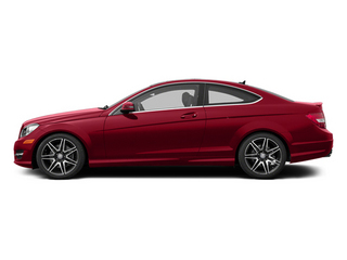 Mars Red 2013 Mercedes-Benz C-Class Pictures C-Class Coupe 2D C350 AWD photos side view