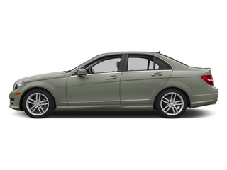 Palladium Silver Metallic 2013 Mercedes-Benz C-Class Pictures C-Class Sedan 4D C250 photos side view