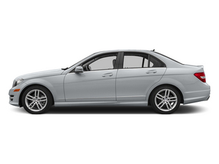 Diamond Silver Metallic 2013 Mercedes-Benz C-Class Pictures C-Class Sedan 4D C250 photos side view