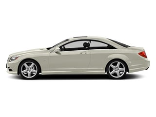 designo Magno Cashmere White Matte 2013 Mercedes-Benz CL-Class Pictures CL-Class Coupe 2D CL600 photos side view