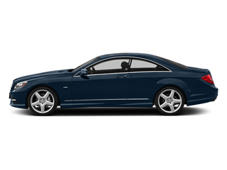 Lunar Blue Metallic 2013 Mercedes-Benz CL-Class Pictures CL-Class Coupe 2D CL600 photos side view