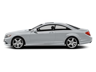 Diamond Silver 2013 Mercedes-Benz CL-Class Pictures CL-Class Coupe 2D CL600 photos side view