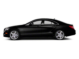 Obsidian Black Metallic 2013 Mercedes-Benz CLS-Class Pictures CLS-Class Sedan 4D CLS550 AWD photos side view