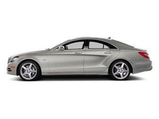 Iridium Silver Metallic 2013 Mercedes-Benz CLS-Class Pictures CLS-Class Sedan 4D CLS550 AWD photos side view