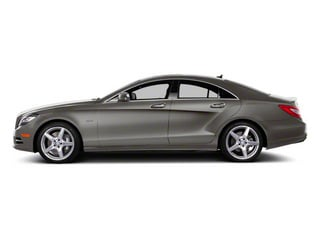 Palladium Silver Metallic 2013 Mercedes-Benz CLS-Class Pictures CLS-Class Sedan 4D CLS550 AWD photos side view