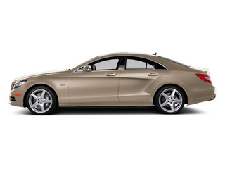 Pearl Beige Metallic 2013 Mercedes-Benz CLS-Class Pictures CLS-Class Sedan 4D CLS63 AMG photos side view