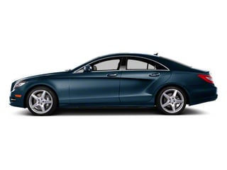 Lunar Blue Metallic 2013 Mercedes-Benz CLS-Class Pictures CLS-Class Sedan 4D CLS550 AWD photos side view