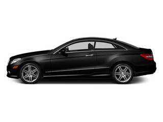 Obsidian Black Metallic 2013 Mercedes-Benz E-Class Pictures E-Class Coupe 2D E550 photos side view
