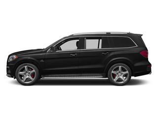Obsidian Black Metallic 2013 Mercedes-Benz GL-Class Pictures GL-Class Utility 4D GL63 AMG 4WD photos side view